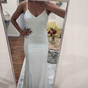 Lulu's Minimalist, Elegant and Classy WeddingDress